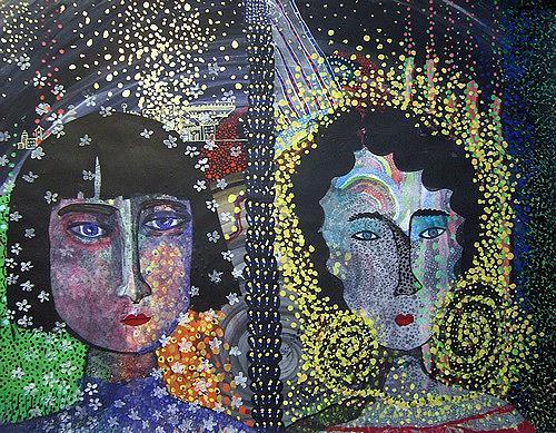 Gwendolyn Kaase, O.T., Menschen: Gesichter, Menschen: Frau, Art Brut