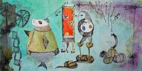 Gwendolyn-Kaase-Poesie-Fantasie-Moderne-Abstrakte-Kunst-Art-Brut