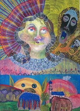Kunst von Gwendolyn Kaase