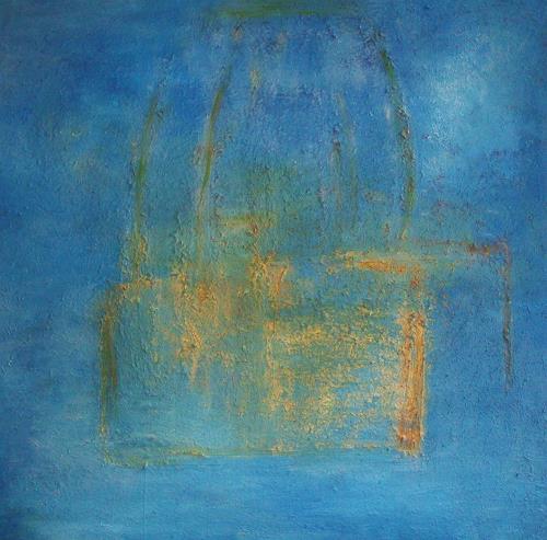 Renate Horn, Fortuna di azzuro, Dekoratives, Diverse Gefühle, Gegenwartskunst