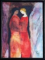 Renate-Horn-Menschen-Paare-Gefuehle-Liebe-Gegenwartskunst-Gegenwartskunst
