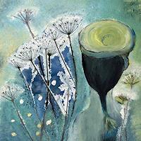 Renate-Horn-Dekoratives-Pflanzen-Blumen-Gegenwartskunst-Gegenwartskunst
