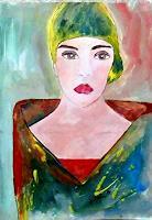 Renate-Horn-Menschen-Frau-Menschen-Portraet-Gegenwartskunst-Gegenwartskunst