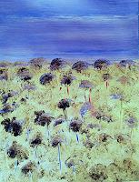 Renate-Horn-Pflanzen-Blumen-Landschaft-Sommer-Gegenwartskunst-Gegenwartskunst