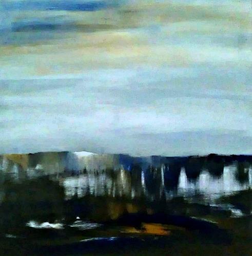 Renate Horn, Surroundings, Diverse Landschaften, Natur: Diverse, Gegenwartskunst, Abstrakter Expressionismus