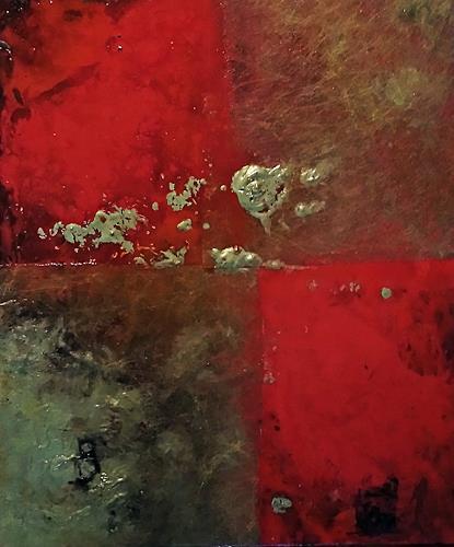 Renate Horn, Festlich, Abstraktes, Fantasie, Gegenwartskunst, Expressionismus