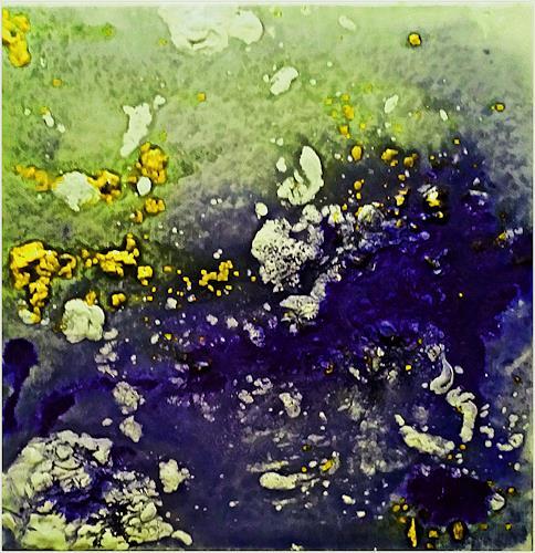 Renate Horn, Frühlingserwachen, Dekoratives, Bewegung, Gegenwartskunst, Expressionismus