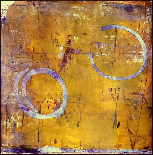 Renate Horn, Playing games, Fantasie, Abstraktes, Gegenwartskunst