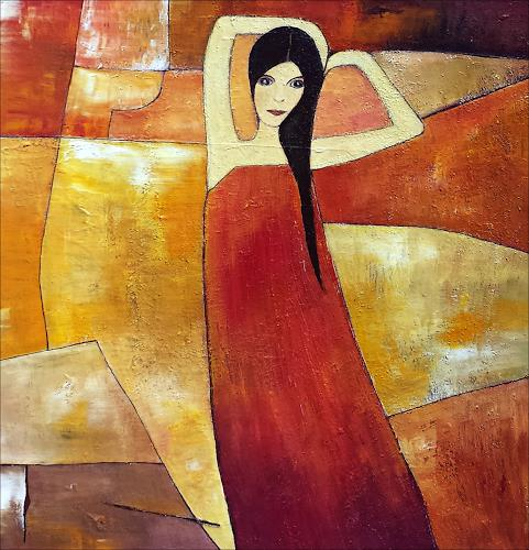 Renate Horn, Antonias`s Welt, Menschen: Frau, Diverse Romantik, Gegenwartskunst
