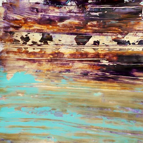 Renate Horn, In the mood, Natur, Abstraktes, Gegenwartskunst, Expressionismus