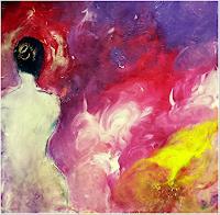 Renate-Horn-Akt-Erotik-Akt-Frau-Diverse-Gefuehle-Moderne-Expressionismus