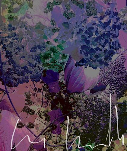 Renate Horn, Blütenträume, Fantasie, Romantik, Gegenwartskunst