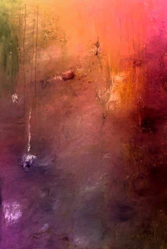 Renate Horn, Lass Farben sprechen, Poesie, Gefühle, Gegenwartskunst, Expressionismus
