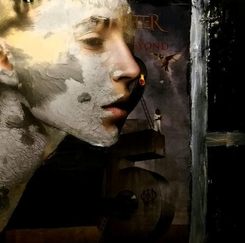 Renate Horn, Metamorphose, Menschen: Porträt, Gefühle, Gegenwartskunst, Abstrakter Expressionismus