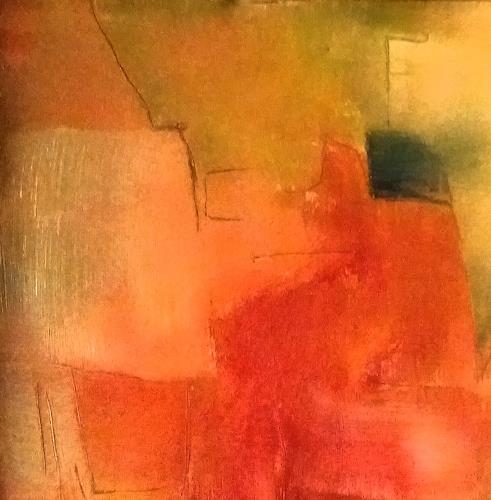 Renate Horn, Intermezzo, Abstraktes, Spiel, Gegenwartskunst