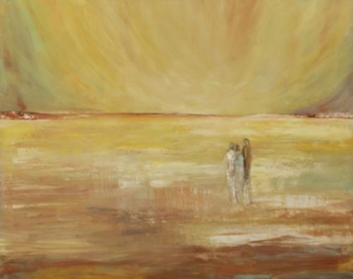 Renate Horn, Ins Licht gehen, I, Menschen, Poesie, Gegenwartskunst
