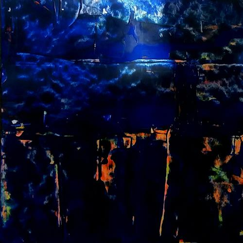 Renate Horn, Magisch, Diverse Landschaften, Natur, Gegenwartskunst, Abstrakter Expressionismus