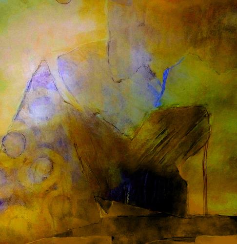 Renate Horn, Lullaby, Fantasie, Poesie, Gegenwartskunst, Abstrakter Expressionismus