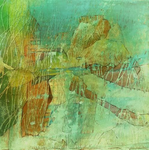 Renate Horn, Maritimes, Diverse Landschaften, Natur, Gegenwartskunst, Expressionismus