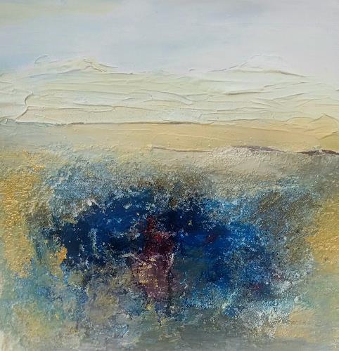 Renate Horn, Im Einklang, Landschaft, Gefühle, Gegenwartskunst