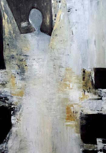 Renate Horn, By my side, Gefühle, Poesie, Gegenwartskunst, Expressionismus