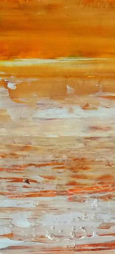 Renate Horn, Sommerfreuden, Landschaft: See/Meer, Gefühle: Freude, Gegenwartskunst