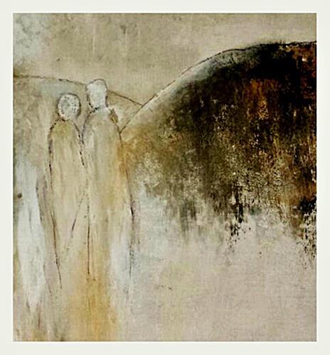 Renate Horn, Dicht an dicht, I, Menschen, Gefühle, Gegenwartskunst