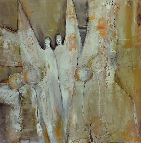 Renate Horn, Wachend, Poesie, Gefühle, Gegenwartskunst