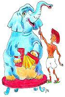R. Dr. med. Jesse, Der Elefant spielt Akkordeon