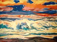 Reiner-Dr.-med.-Jesse-Landschaft-See-Meer-Moderne-Expressionismus-Fauvismus