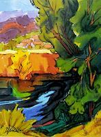 Reiner-Dr.-med.-Jesse-Landschaft-Sommer-Moderne-Expressionismus