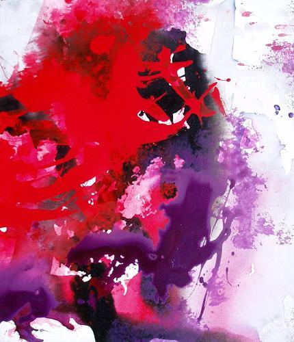 Reiner Dr. med. Jesse, Spuren-Anne Boleyn, Abstraktes, Informel, Abstrakter Expressionismus