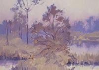 Reiner-Dr.-med.-Jesse-Landschaft-Herbst-Moderne-Impressionismus