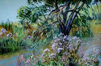 Reiner-Dr.-med.-Jesse-Landschaft-Sommer-Moderne-Impressionismus