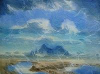 Reiner-Dr.-med.-Jesse-Landschaft-See-Meer-Moderne-Impressionismus