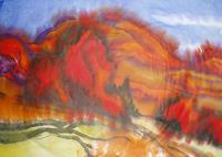 Reiner-Dr.-med.-Jesse-Landschaft-Herbst-Moderne-Expressionismus