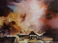 Reiner-Dr.-med.-Jesse-Landschaft-Berge-Moderne-Impressionismus
