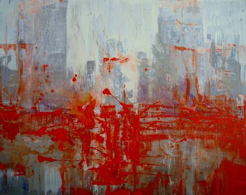 Reiner Dr. med. Jesse, Ein Regentag in Harlem, Abstraktes, Informel, Abstrakter Expressionismus