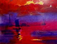 Reiner-Dr.-med.-Jesse-Landschaft-See-Meer-Landschaft-See-Meer-Moderne-Impressionismus