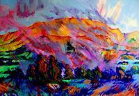 Reiner-Dr.-med.-Jesse-Landschaft-Berge-Moderne-Expressionismus