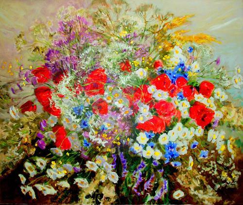 Reiner Dr. med. Jesse, Feldblumen, Stilleben, Impressionismus