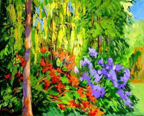 Reiner Dr. med. Jesse, Aus meinem Garten - Goldregen, Pflanzen: Bäume, Impressionismus