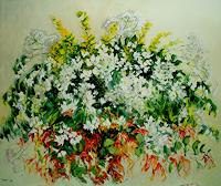 Reiner-Dr.-med.-Jesse-Pflanzen-Blumen-Moderne-Impressionismus
