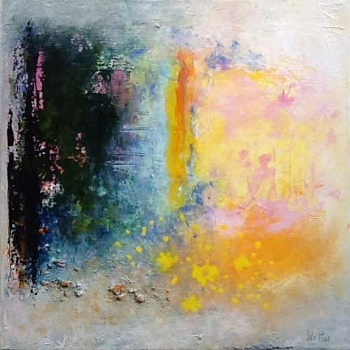 Christa Wetter, Gefühlsschwankungen, Abstraktes, Gegenwartskunst, Expressionismus