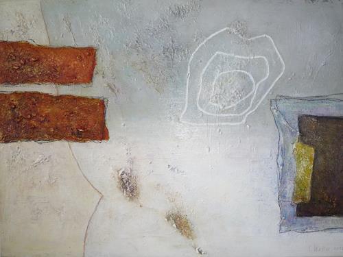 Christa Wetter, Überschneidungen, Abstraktes, Gegenwartskunst