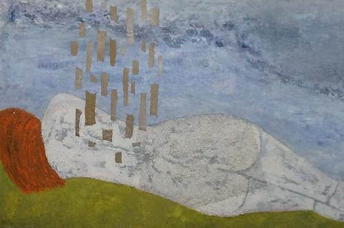 Christa Wetter, Die Träumende, Menschen: Frau, Gegenwartskunst