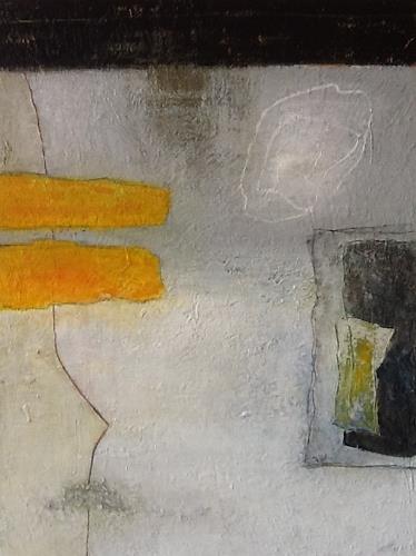 Christa Wetter, Überschneidungen 2, Abstraktes, Gegenwartskunst, Abstrakter Expressionismus