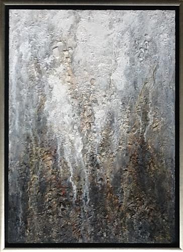 Christa Wetter, Goldmine, Abstraktes, Gegenwartskunst
