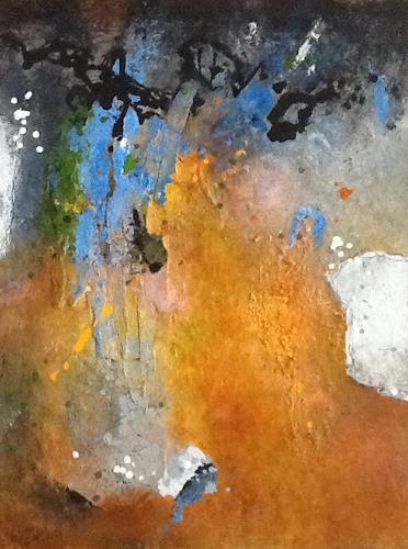 Christa Wetter, hoffnungsvoll, Abstraktes