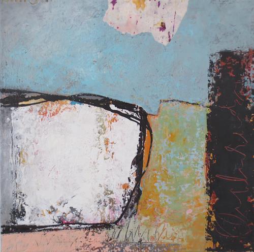Christa Wetter, zukunftsorientiert, Symbol, Abstrakte Kunst, Expressionismus
